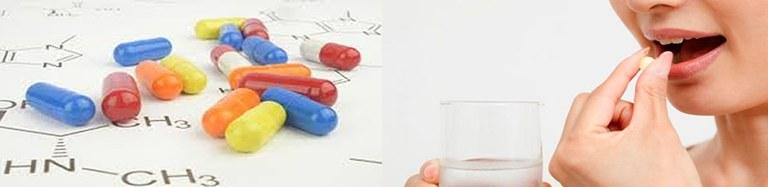 O Químico está presente na produção de medicamentos.